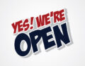 Jesteśmy otwarci!